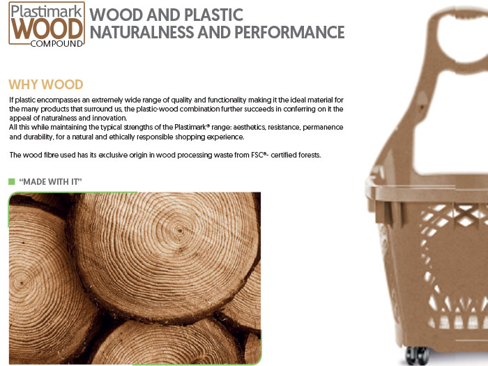 Plastimark WOOD Compound